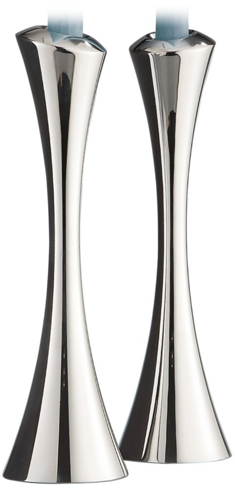Nambe Aquila Set of 2 Candlestick Taper Candle Holders
