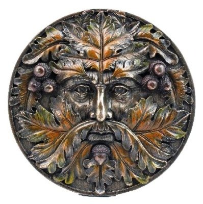 Green Man Autumn Equinox Wall Plaque By Nemesis Now by Green Man Gifts SP43888