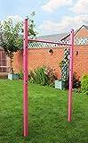 Fun!ture'Mila' Children's Pink Outdoor Adjustable Gymnastics Horizontal Bar