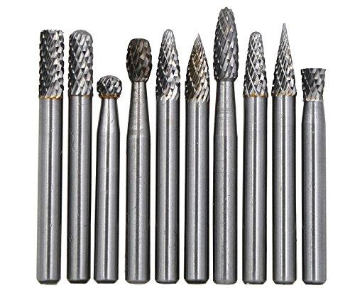 Carbide Cutting Tungsten (Wokesi 10Pcs,1/4