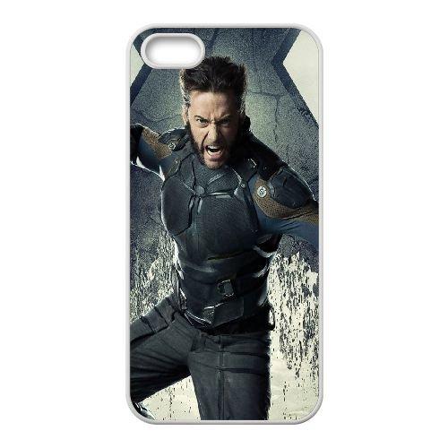 Wolverine coque iPhone 4 4S cellulaire cas coque de téléphone cas blanche couverture de téléphone portable EOKXLLNCD20773