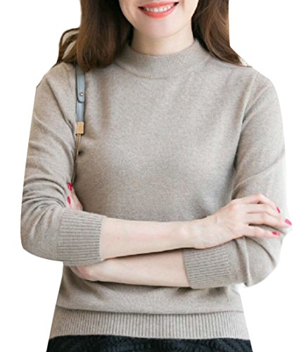 M amp;S Pullover Soft Neck Half amp;W Women's Gamel Turtle Sweater Knit Fashion nZW6anfx