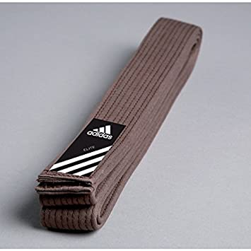 6ad4d4e7b97d Adidas Elite Belt Ceinture Marron Judo, karaté Ceinture, Taekwondo Ceinture,  Marron