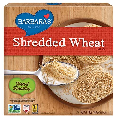 Barbara's Bakery Shredded Wheat Breakfast Cereal, 13 Ounce, 12 Count