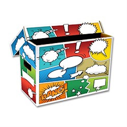 10 BCW SHORT COMIC ART BOXES POW