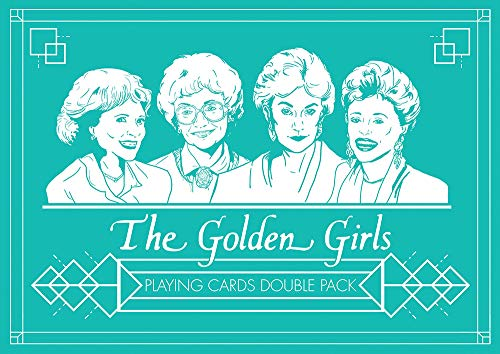 USAOPOLY The Golden Girls Playing Card Set ()
