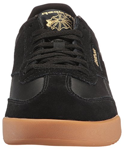 Reebok Mens Royal Rayen 2 Fashion Sneaker Nero / Oro Metallizzato / Gomma