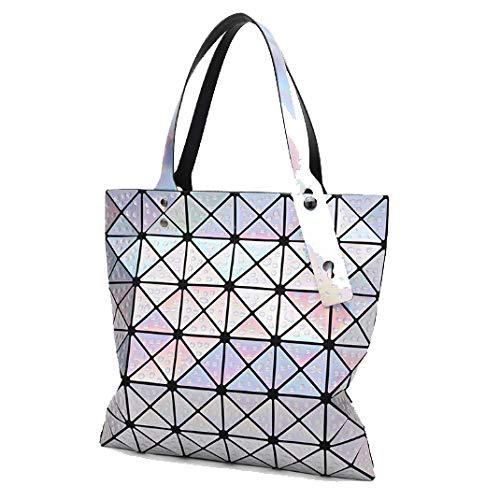 Pour à Losange Messenger Main XZW D'eau à Laser Sac Sac Gouttelettes Géométrique Femme Bag NB Bandoulière qUw8UXg