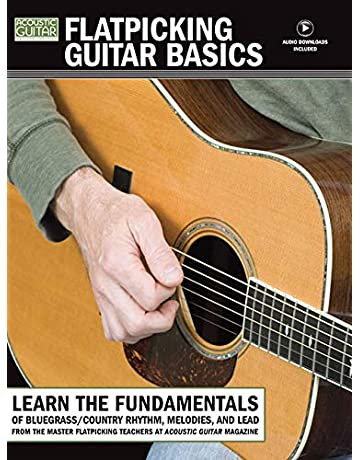 Flatpicking Guitar Basics [With CD (Audio)] (Acoustic Guitar Private Lessons)