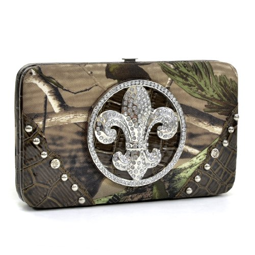 Dasein in Realtree Camouflage Purses Camo Handbags Extra Deep Frame Clutch Wallet