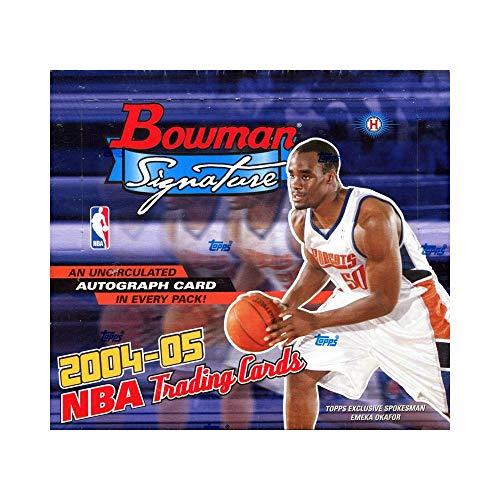 2004/05 Bowman Signature Basketball Hobby -
