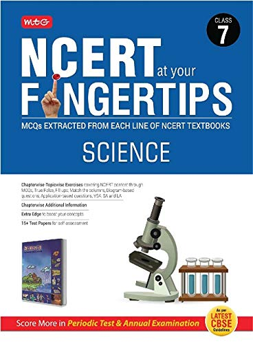 Buy NCERT at your Fingertips Science Class-7 Book Online at