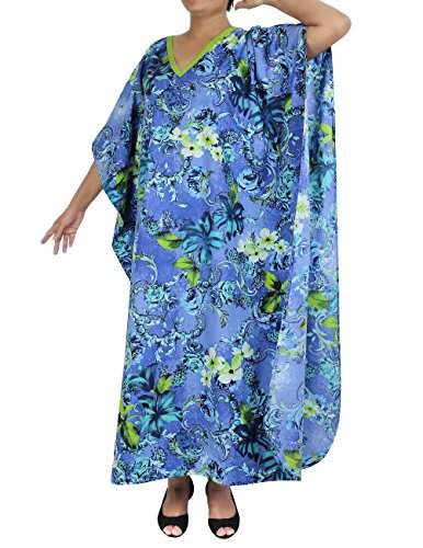 Indian-Cotton-Comfortable-Maxi-Dress-Printed-Floral-Casual-Night-Wear-Gifts-for-Her