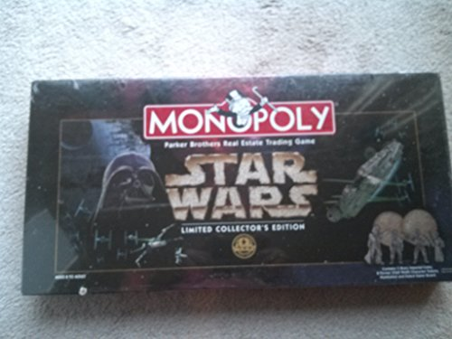 Anniversary Collectors Edition Monopoly - Monopoly 1997 Star Wars Monopoly Limited CollectorS 20Th Anniversary Edition