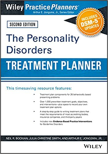 The Personality Disorders Treatment Planner: Includes DSM-5