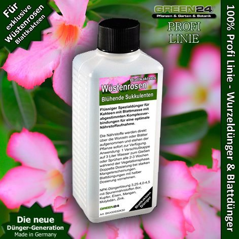 Adenium Feed (The Desert Rose) - Liquid Fertilizer HighTech NPK, Root, Soil, Foliar, Fertiliser - Professional Plant Food (Best Feed For Roses)