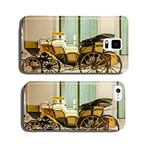 Old horse carriage cell phone cover case Samsung S6
