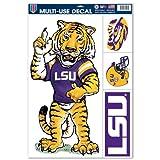 NCAA Louisiana State University 42983012 Multi Use Decal, 11 x 17'', Black