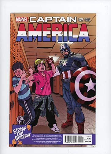 CAPTAIN AMERICA #25 | Marvel | December 2014 | Vol 7 | 1st app of Sam Wilson as Captain America/Stomp Out Bullying Variant Cover