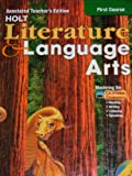 Holt Literature and Language Arts, Grade 7, Holt, Rinehart and Winston Staff, 0030573688
