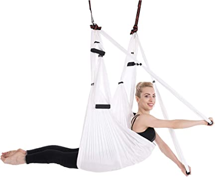 Amazon.com: W.zz Yoga Hammock Set Aerial Silk Yoga Set Safe ...