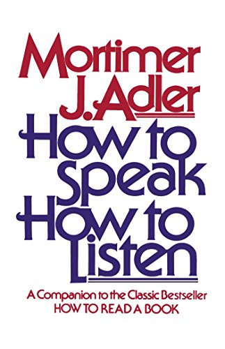how to speak how to listen pdf download