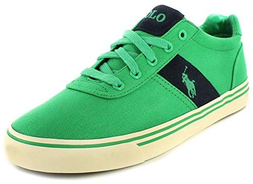 Ralph Lauren Polo ANFORD Green Scarpe Uomo Sneakers Tessuto Verde