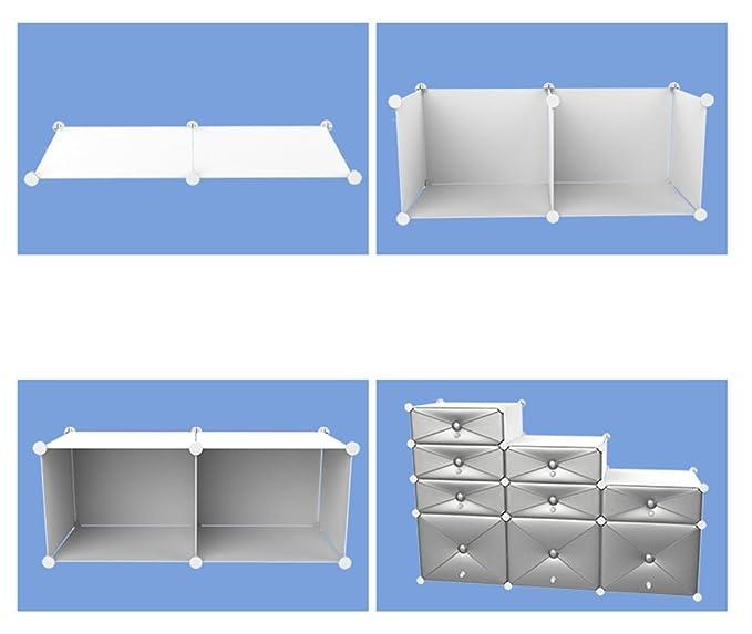 Casier à chaussures simple à domicile à plusieurs étages - espace d'économie espace dortoir rangement multifonctionnel de la petite chaussure en plastique ( Couleur : Or rose , taille : 47 37 127cm )