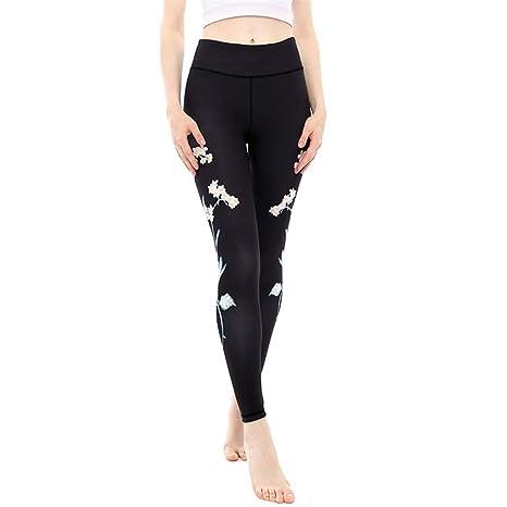 Xhtoe Pantalones de Yoga Pantalones de Yoga Impresos Caderas ...