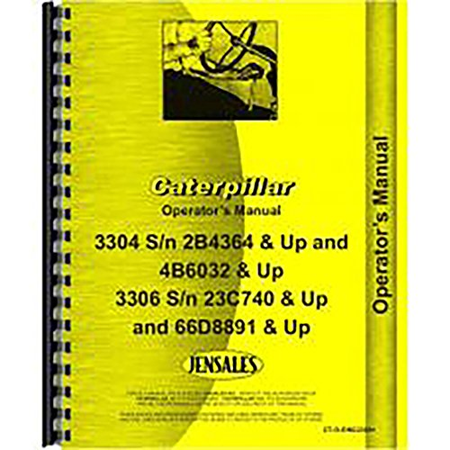 For Caterpillar 3304 Engine Operators Manual (Caterpillar 3304 Engine)