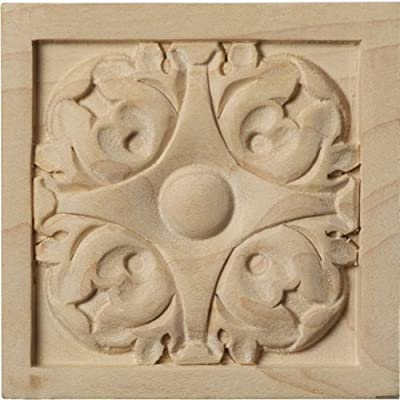 Ekena Millwork ROS03X03X00LFAL Small Leaf Rosette from Amazon.com, LLC *** KEEP PORules ACTIVE ***