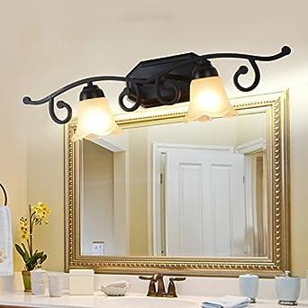 TYDXSD LED-Leuchten Spiegel minimalistische Badezimmer Spiegel ...