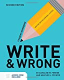 Write  &  Wrong: Writing Within Criminal Justice Student Workbook