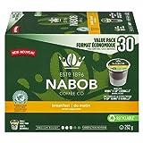 Nabob Breakfast Blend, Single Serve Coffee Pods, 30 Pods, 292G