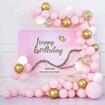 Yiran Birthday Party Christening Wedding Helium Latex Balloons Garland Arch Kit