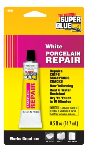 Super Glue 19061-12 Porcelain Repair, 12-Pack(Pack of 12)