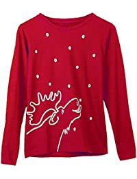 Women's Marushka Moose Lick Long Sleeve T-Shirt