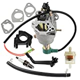 Panari Carburetor + Insulator for Champion 40023 40030 41135 41152 41154 41302 41311 41331 41332 41351 49011 49056 C41155 C49055 CSA40036 CSA41155 CSA41155E ETL7007 Generator
