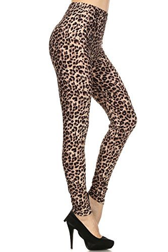 World of Leggings Feral Cheetah Leggings