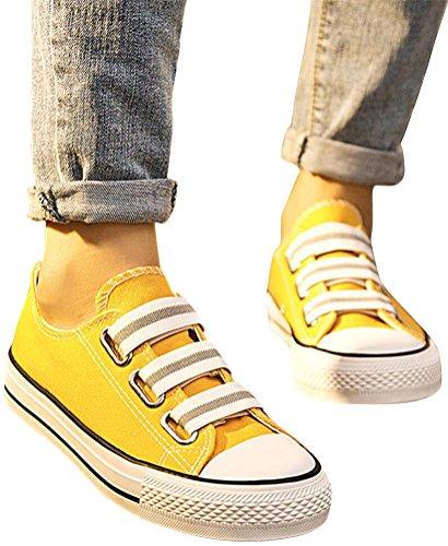 Scarpe In Tela Satuki Per Donna, Tira Su Mocassini Casual Casual Moda Sneakers Di Tendenza