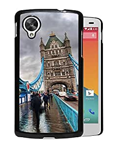 New Beautiful Custom Designed Cover Case For Google Nexus 5 With London Tower Bridge Phone Case