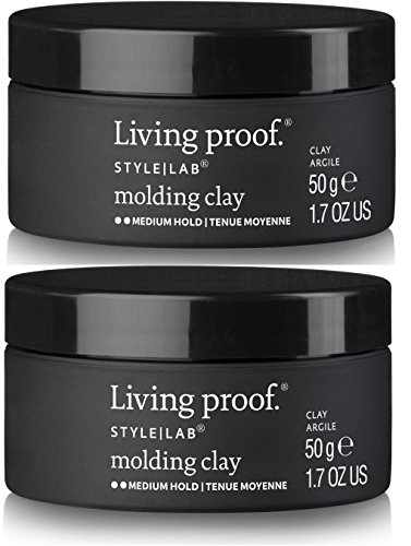 Living Proof Style Lab Molding Clay 1.7 Ounce (Pack of 2) / Medium hold – matte finish / Shapes, Mold, Hold Hair / Color - Style Aniston Jennifer
