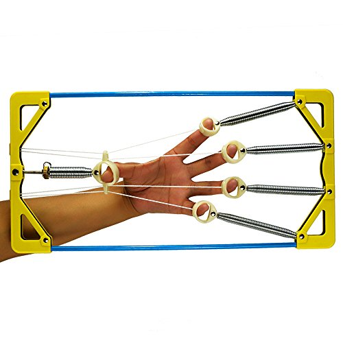 Finger Exerciser King Hand & Finger Strengthener For Grip , Practice Guitar, Piano,or Rehabilitation therapy, Rock Climbing Training And Bascketball Finger Training