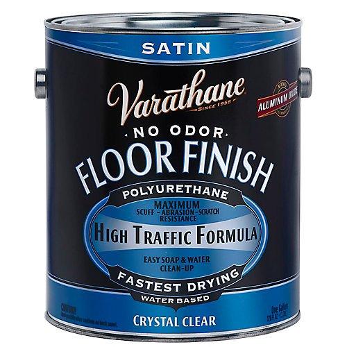 Floor Varnish Clear Satin - RUST-OLEUM 230231 Satin Water Floor Finish