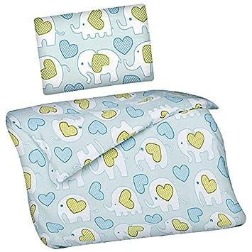 Renforce Kinder Baby Bettwäsche 2tlg Garnitur 100 x 135 cm viele Designs