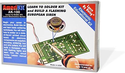 Amazon elenco amerikit learn to solder kit toys games solutioingenieria Images