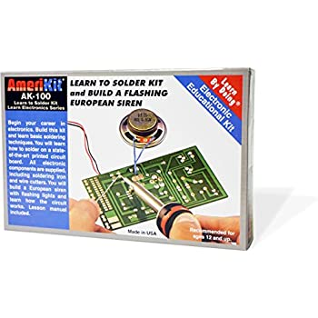Elenco AmeriKit Learn to Solder Kit - amazon.com