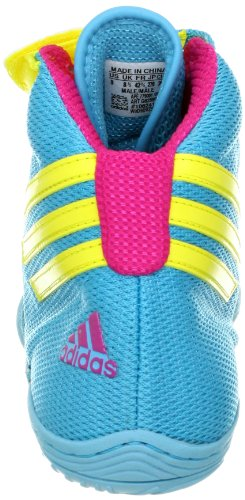 Adidas Wrestling Herren Adizero Sydney Schuh Blaugrün / Gelb / Pink