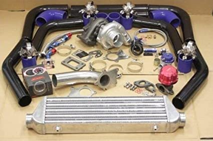 Image Unavailable. Image not available for. Color: Turbo Kit for Honda Civic ...