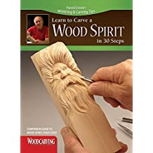 Learn to Carve a Wood Spirit (Booklet): Companion Guide to Wood Spirit Study Stick